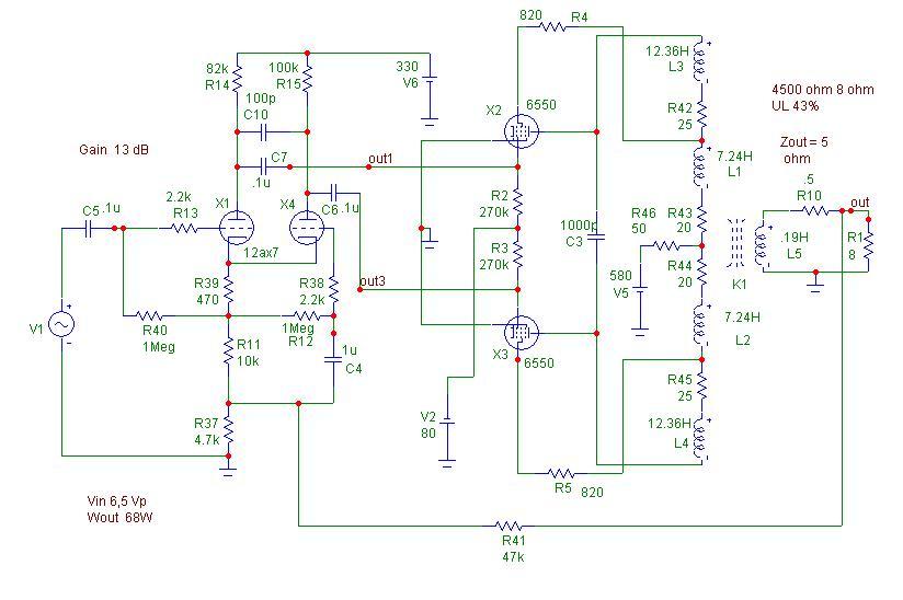 Schema Collegamento Equalizzatore Amplificatore : Schema elettrico octaver fare di una mosca